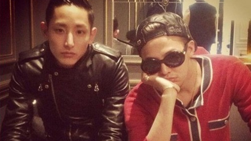 G-Dragon Gives Good Friend Lee Soo Hyuk a Fabulous Gift