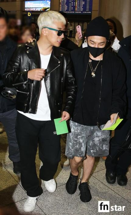 BIGBANG arrival Seoul 2015-10-26 press (3)