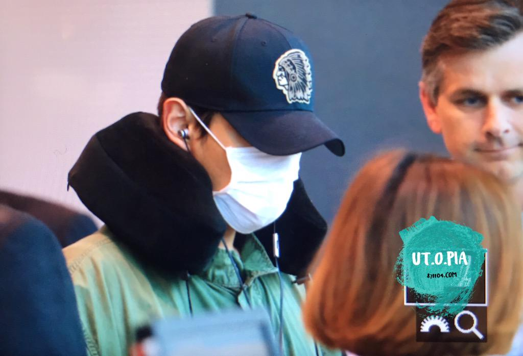 BIGBANG departing Sydney for Melbourne 2015-10-20 (2)
