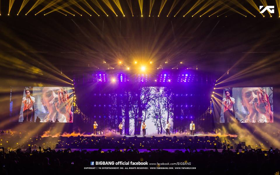 BIGBANG MADE in Sydney YG Official pics 2015-10-17 (5)