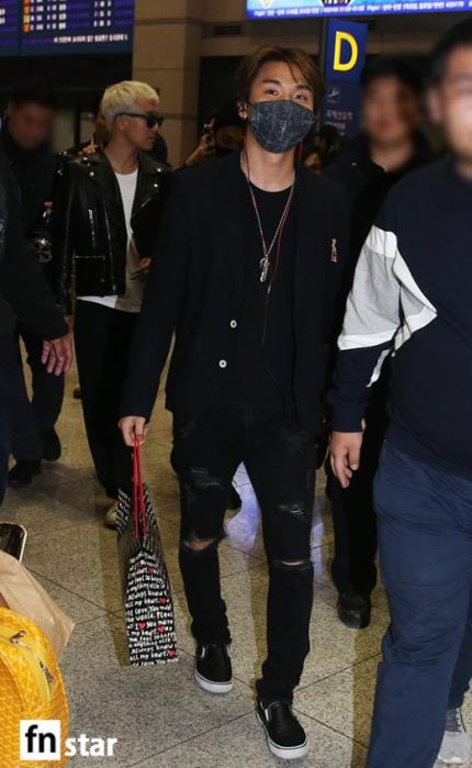 BIGBANG arrival Seoul 2015-10-26 press (2)
