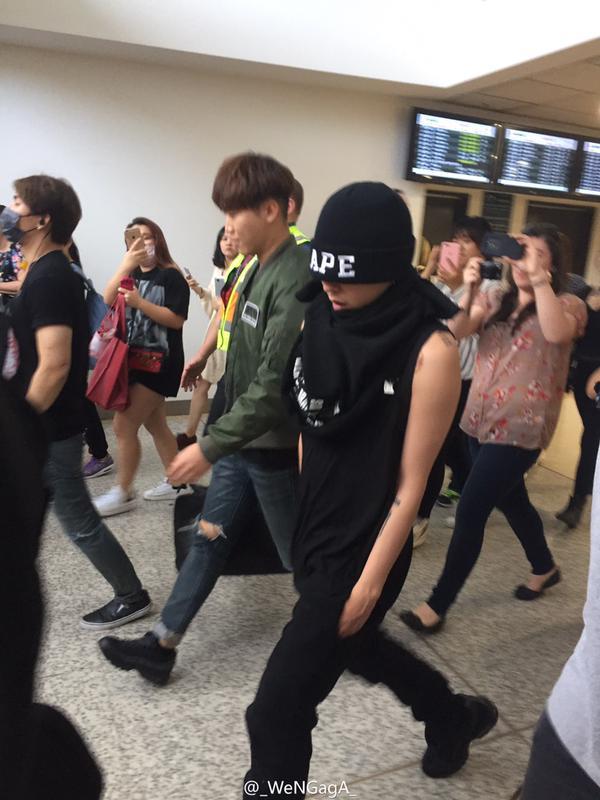 BIGBANG Arrival Melbourne WENGAGA Weibo (2)