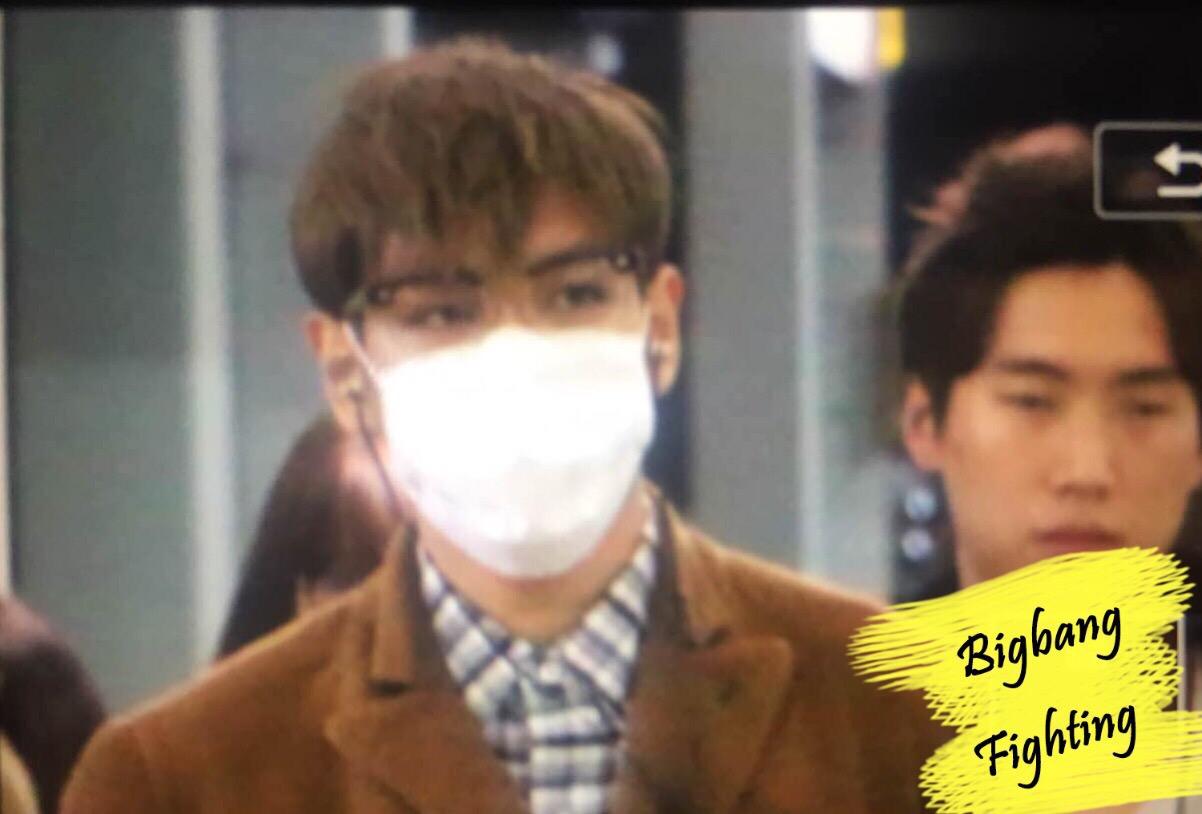 BIGBANGfighting TOP Seoul to Taiwan 2015-11-05 (1)