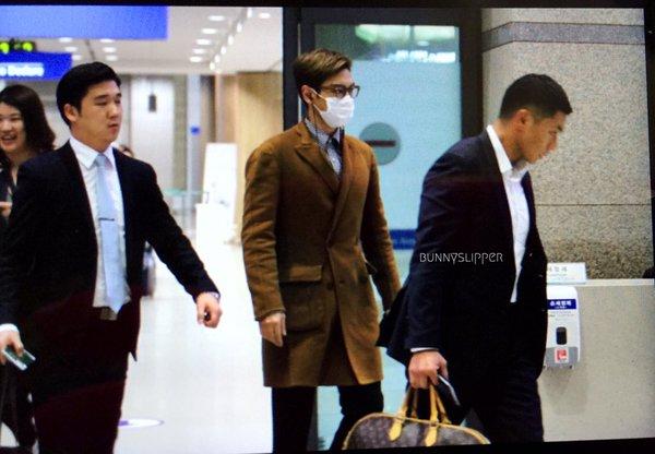 TOP Arrival Seoul 2015-11-06 bunnyslipper (2)