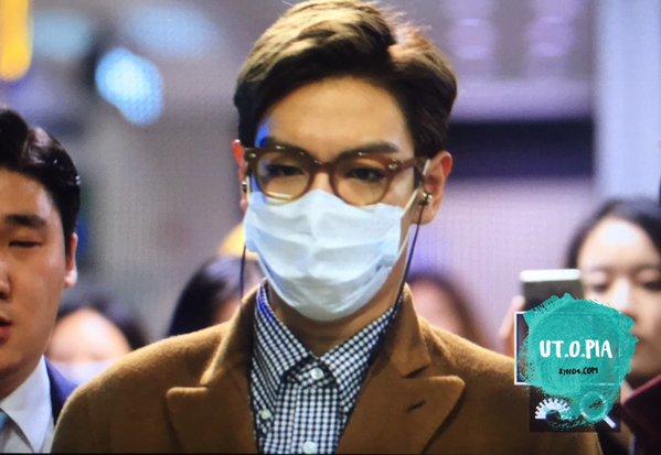TOP Arrival Seoul 2015-11-06 utop (1)