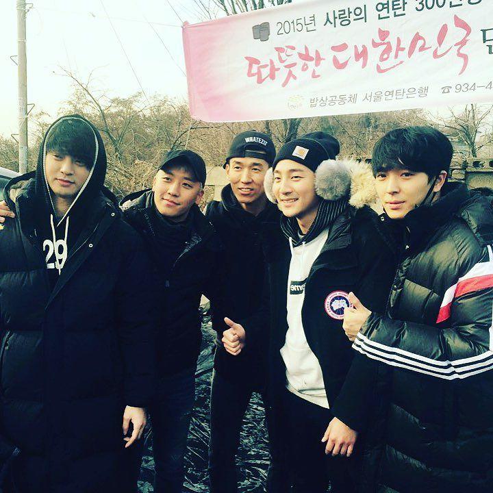 Photo] Choi Jong Hoon Instagram with Seungri 2015-12-29