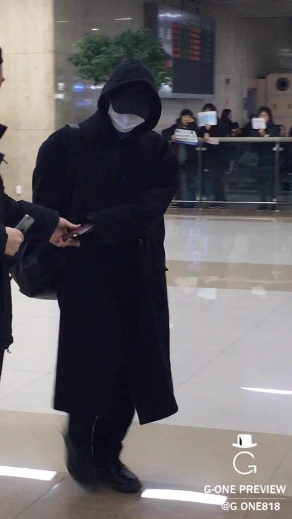 G-Dragon Seoul From Japan 2015-12-22 (3)