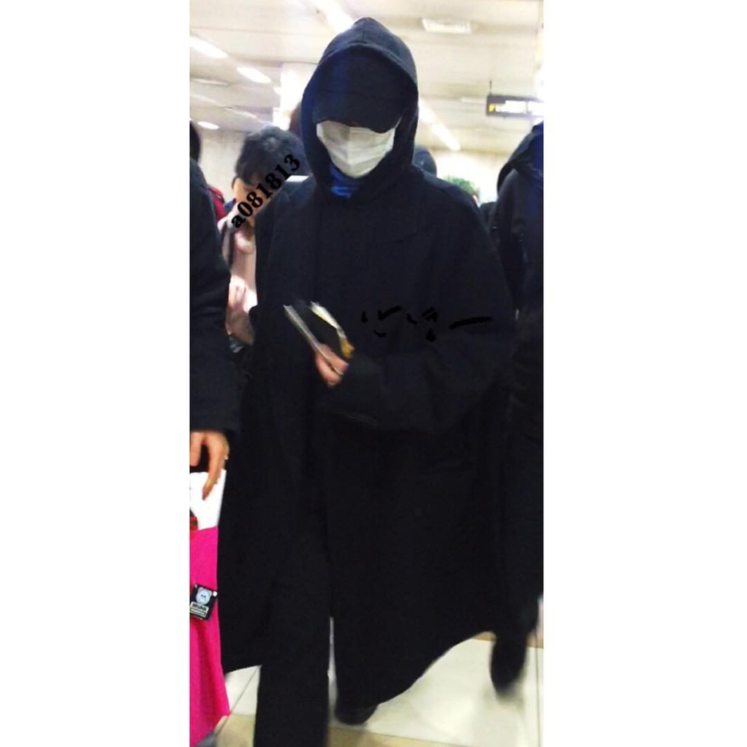 G-Dragon Arrival Seoul From Japan 2015-12-22 By A081813