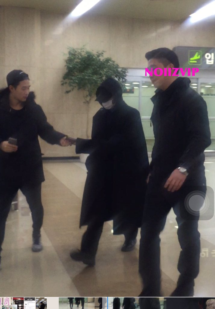 G-Dragon - Gimpo Airport - 22dec2015 - NoiizVip - 01