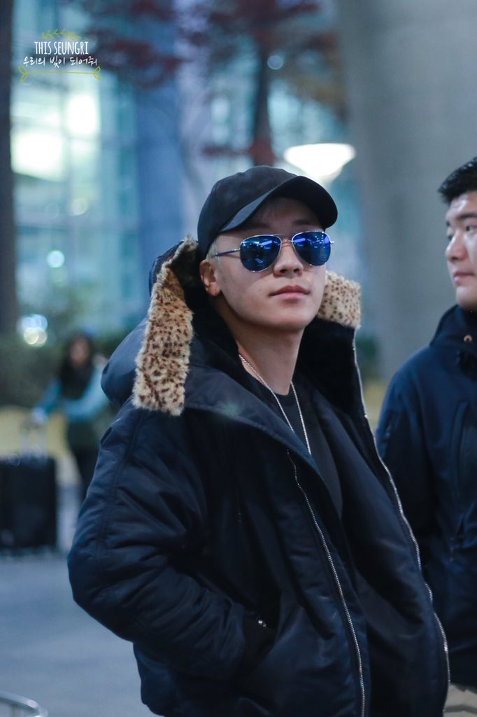 Seungri Arrival Seoul From Los Angeles 2015-12-23 - By THISSEUNGRI (2)