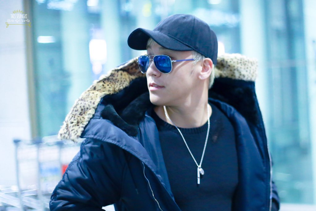 Seungri Arrival Seoul From Los Angeles 2015-12-23 - By THISSEUNGRI (1)