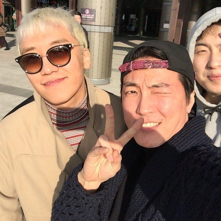 RM Mania Instagram With Seungri 2015-12-27