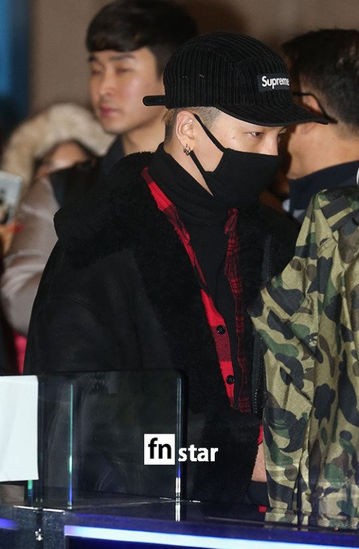 Big Bang - Gimpo Airport - 31dec2015 - Fnstar - 06