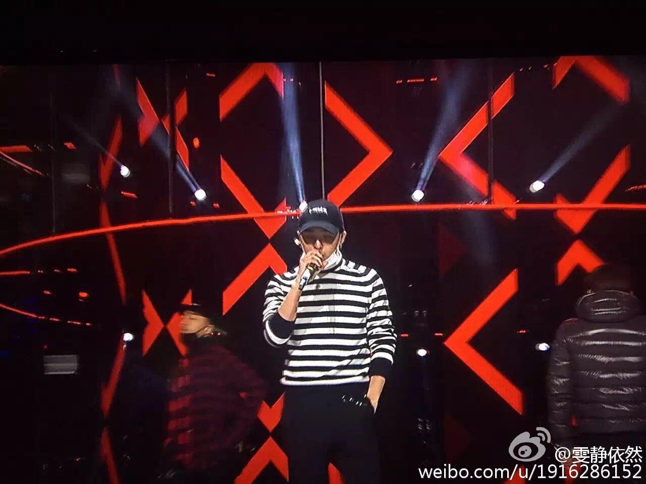 BIGBANG Rehearsals Hunan TV 31-12-2015 (4)