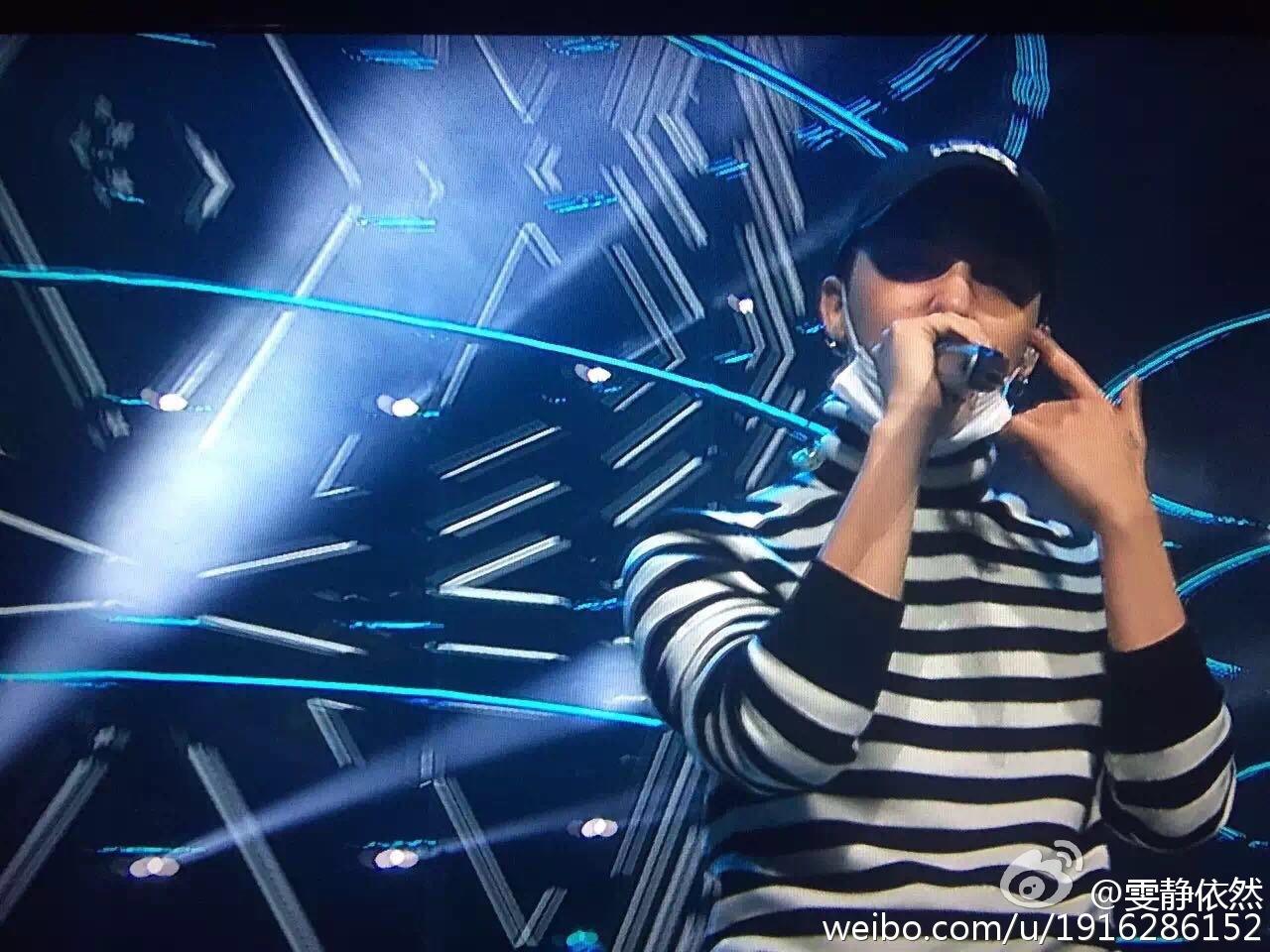 BIGBANG Rehearsals Hunan TV 31-12-2015 (1)