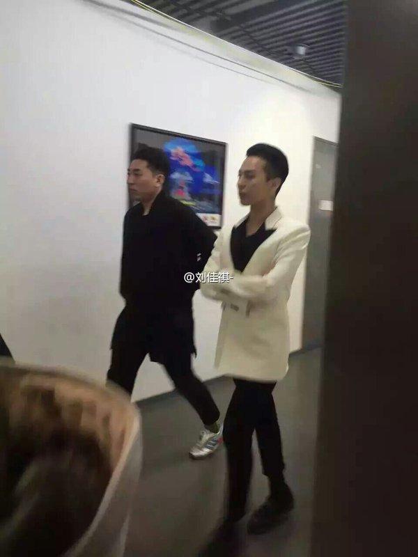 BIGBANG Backstage Hunan TV 2015-12-31 (1)