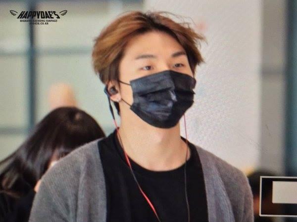 BIGBANG arrival Seoul ICN from Nagoya 2015-12-07 (1)