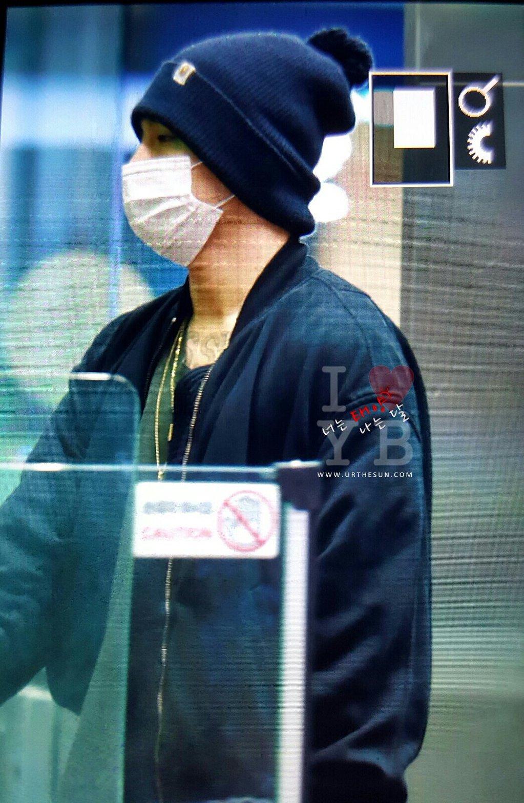 BIGBANG arrival Seoul from Hong Kong 2015-12-03 urthesun (1)