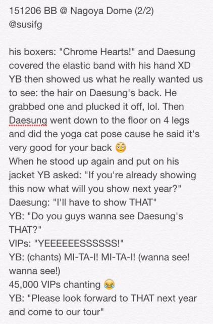 Fan Report BIGBANG Nagoya Day 2 2015-12-06 by SUSIFG (2)