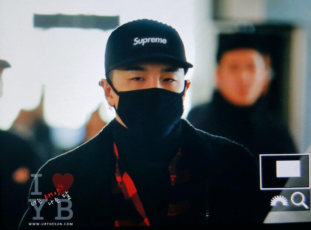 BIGBANG - Gimpo Airport - 31dec2015 - Urthesun - 06