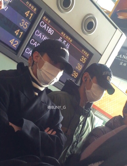 BIGBANG - Beijing Airport - 31dec2015 - Jenny35 - 01
