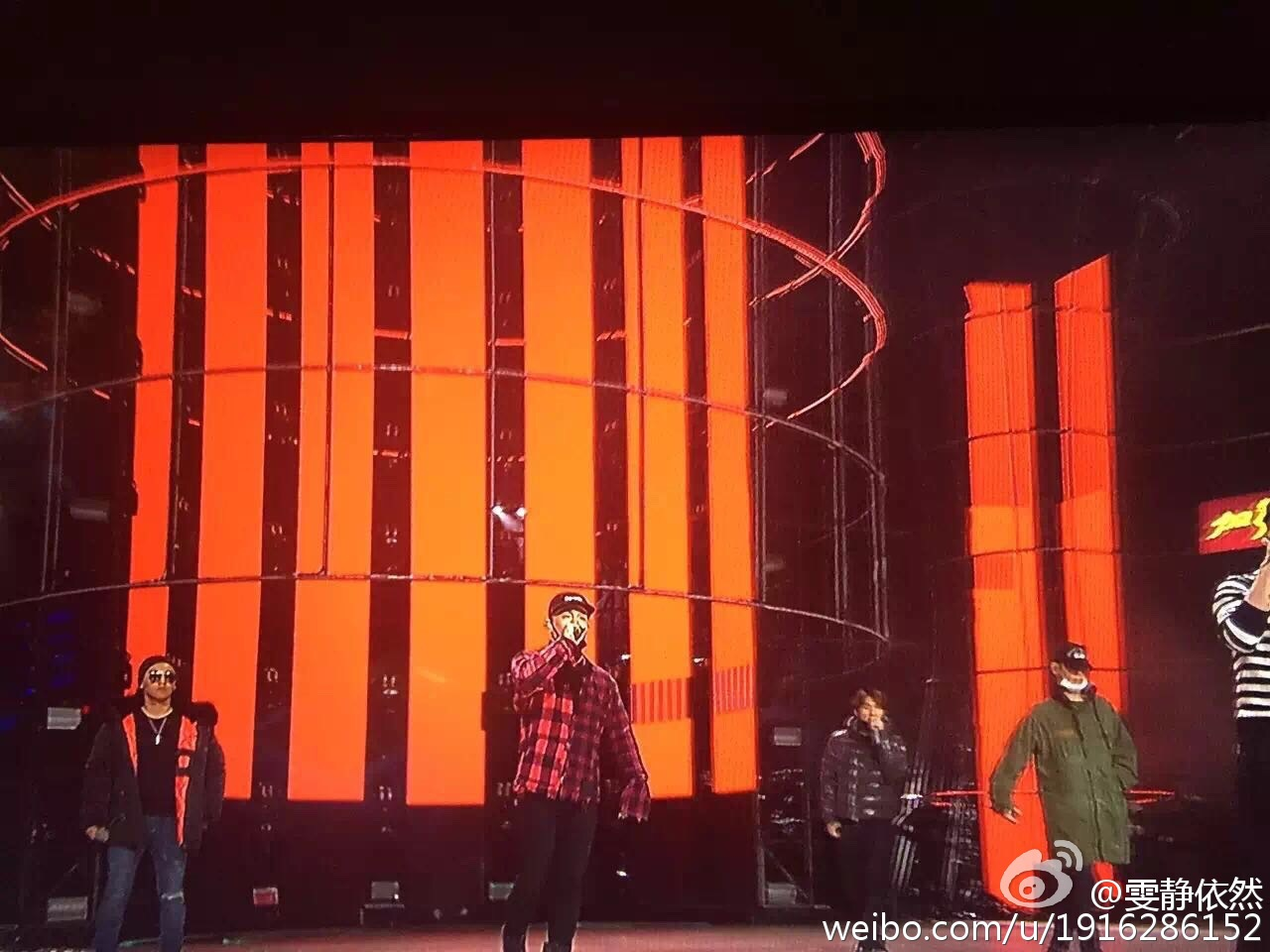 BIGBANG Rehearsals Hunan TV 31-12-2015 (2)