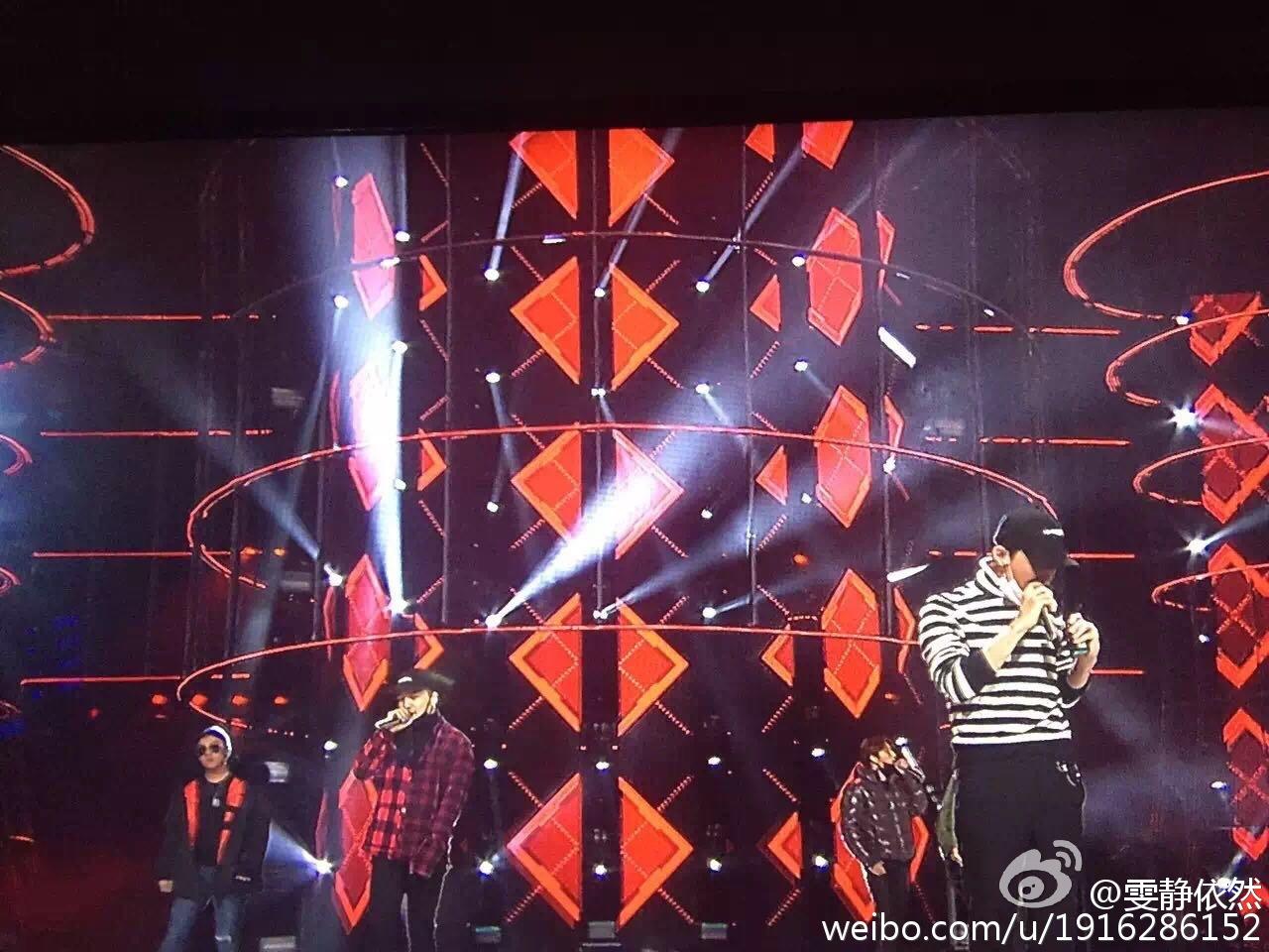 BIGBANG Rehearsals Hunan TV 31-12-2015 (3)