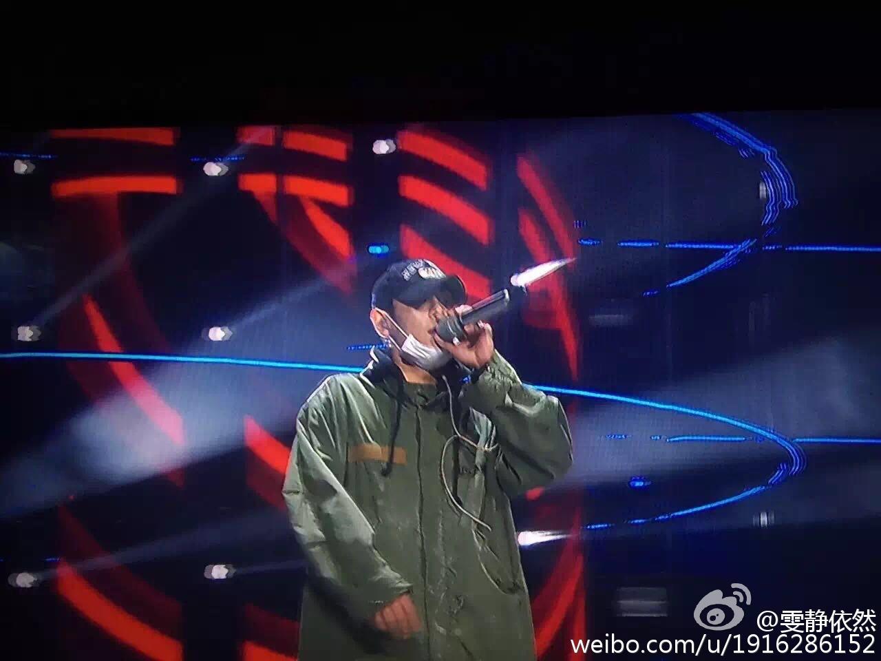 BIGBANG Rehearsals Hunan TV 31-12-2015 (5)
