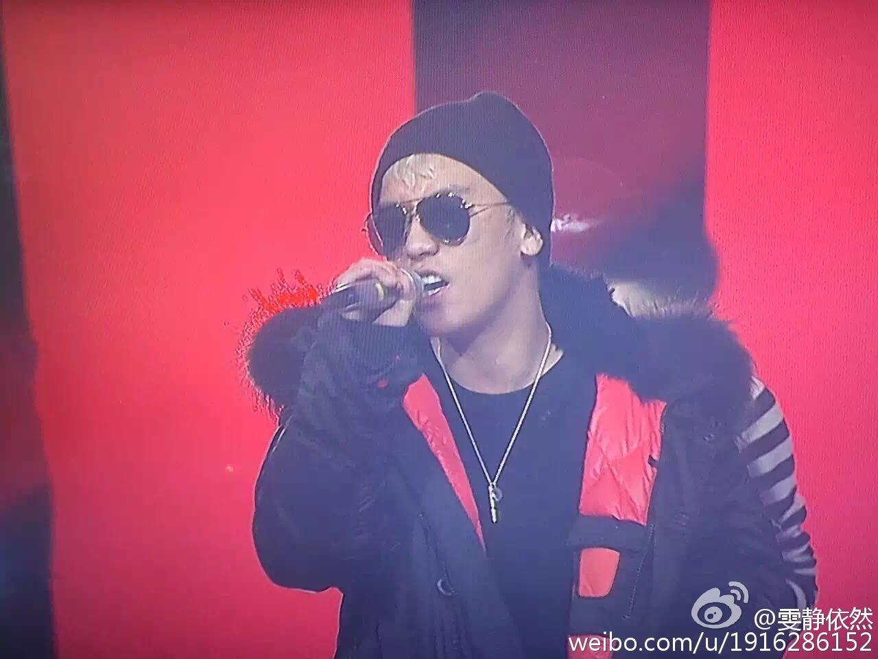 BIGBANG Rehearsals Hunan TV 31-12-2015 (6)