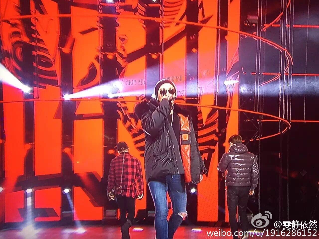 BIGBANG Rehearsals Hunan TV 31-12-2015 (7)