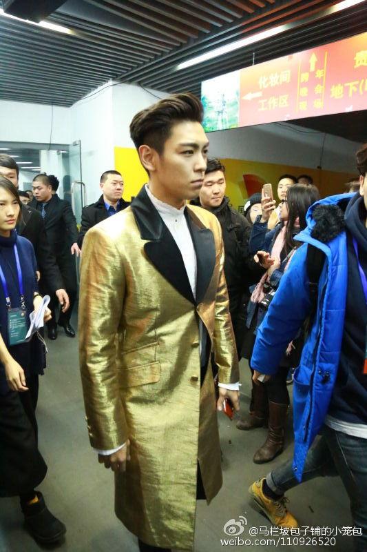 BIGBANG Backstage Hunan TV 2015-12-31 马栏坡包子铺的小笼包 (5)