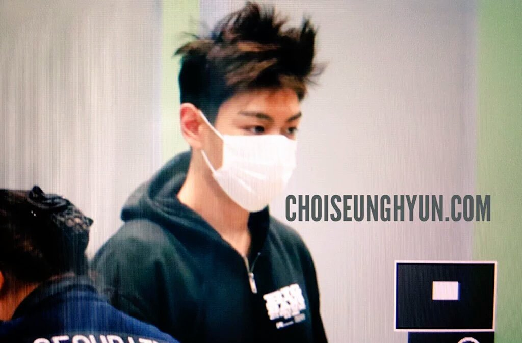 GD TOP Dae Departure Beijing To Seoul 2016-01-02 Choidot (1)