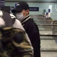 GD TOP Dae Departure Beijing To Seoul 2016-01-02 韩都衣舍G-Dragon粉丝团 (7)
