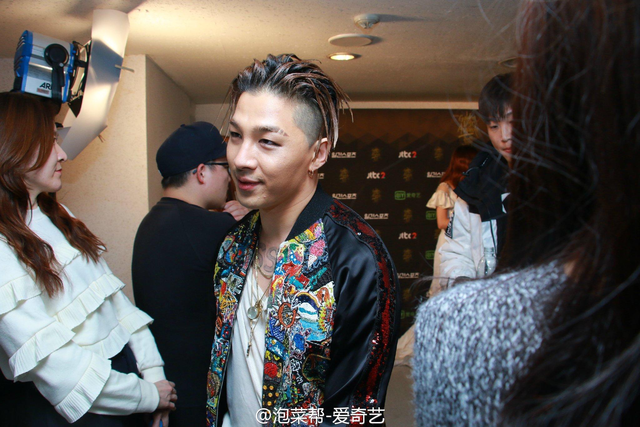 BIGBANG - Golden Disk Awards - Backstage - 20jan2016 - 泡菜帮-爱奇艺 - 08