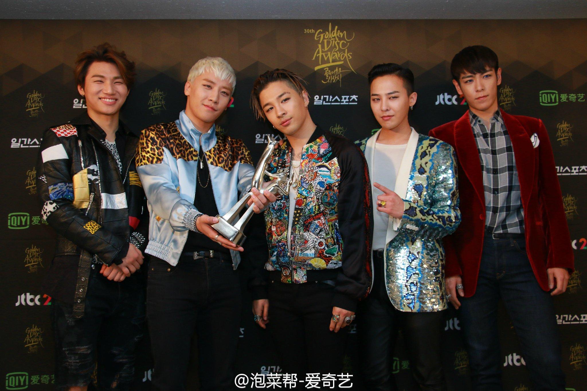 BIGBANG - Golden Disk Awards - Backstage - 20jan2016 - 泡菜帮-爱奇艺 - 13