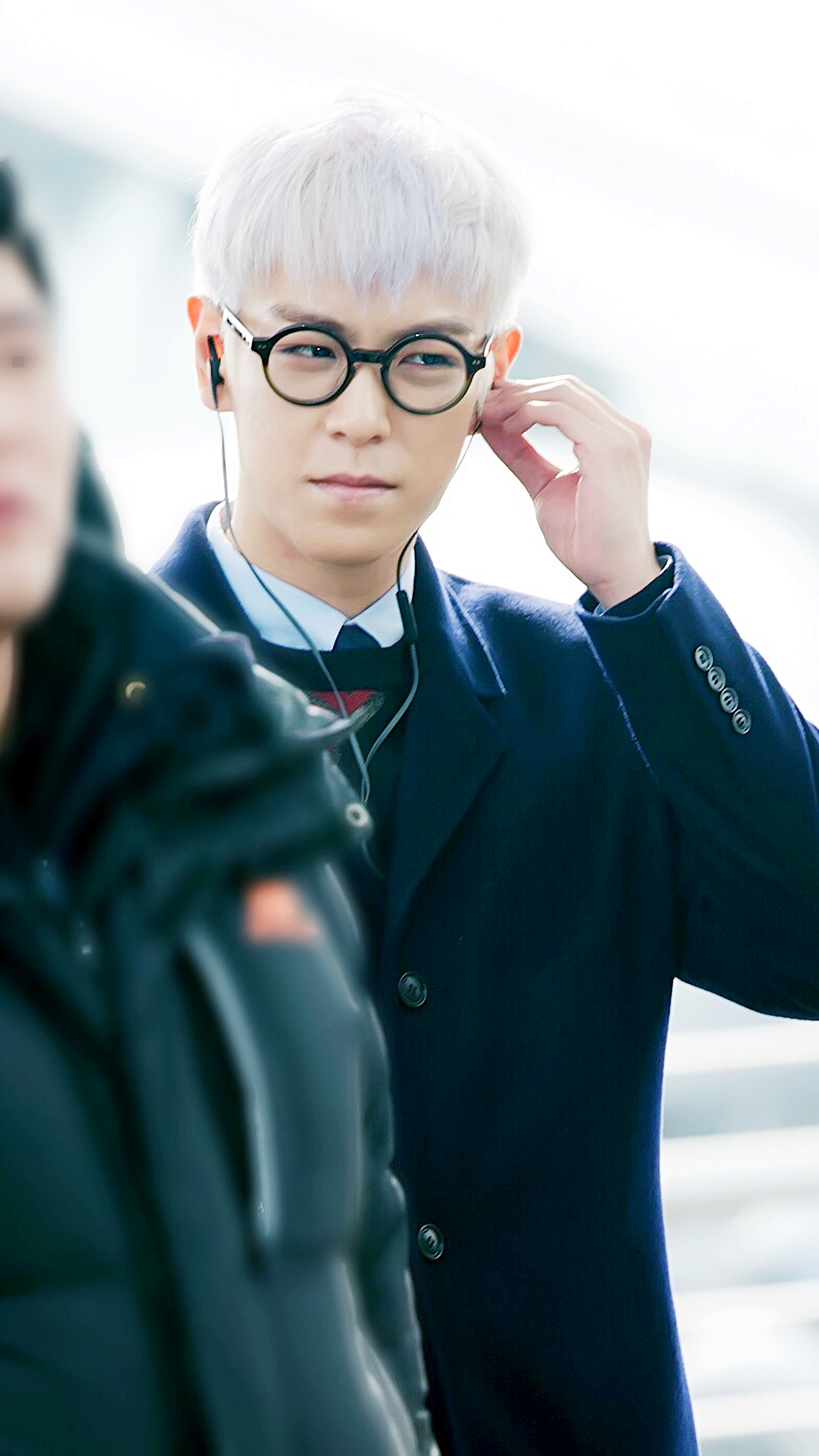 TOP G-Dragon Departure Seoul Incheon To Paris 2016-01-22 ChoIsis (3)