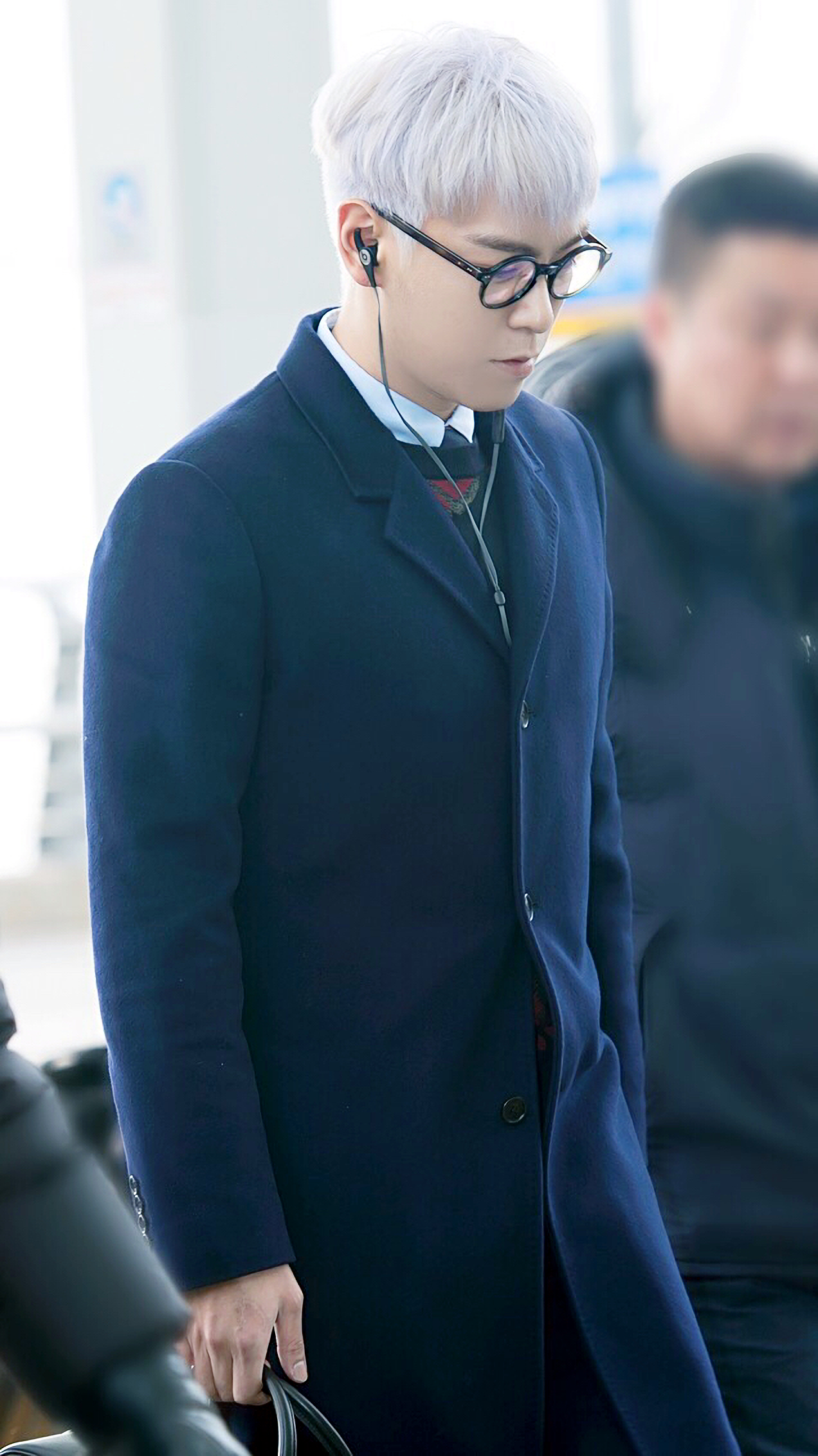 TOP G-Dragon Departure Seoul Incheon To Paris 2016-01-22 ChoIsis (6)