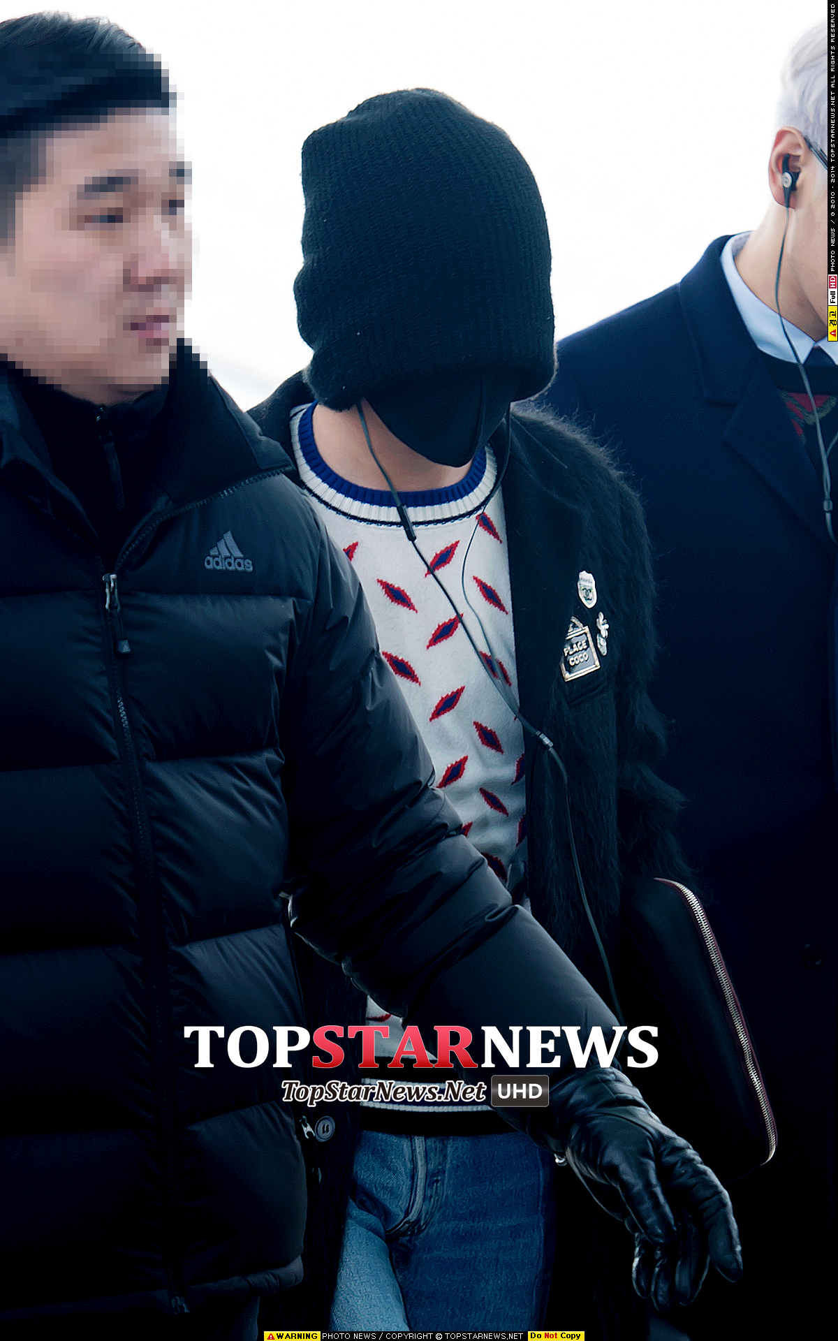 TOP G-Dragon Departure Seoul Incheon To Paris 2016-01-22 HQs (10)