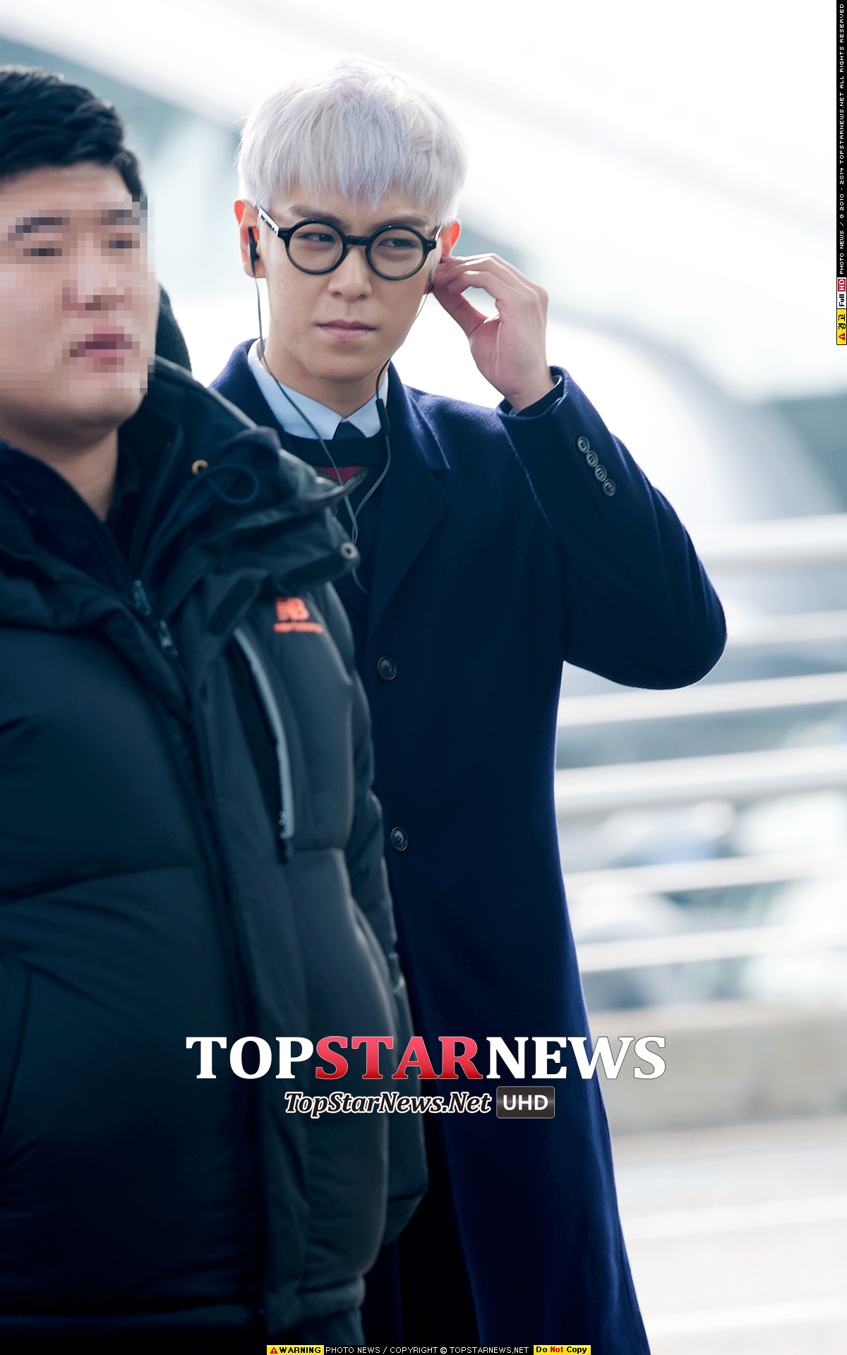 TOP G-Dragon Departure Seoul Incheon To Paris 2016-01-22 HQs (4)