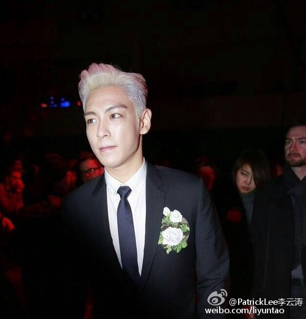 TOP - Dior Homme Fashion Show - 23jan2016 - Liyuntao - 06