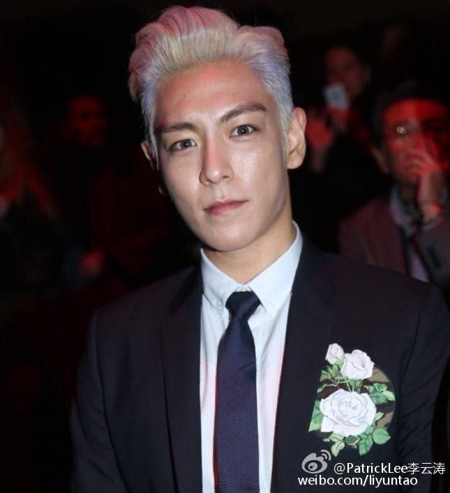 TOP - Dior Homme Fashion Show - 23jan2016 - Liyuntao - 07