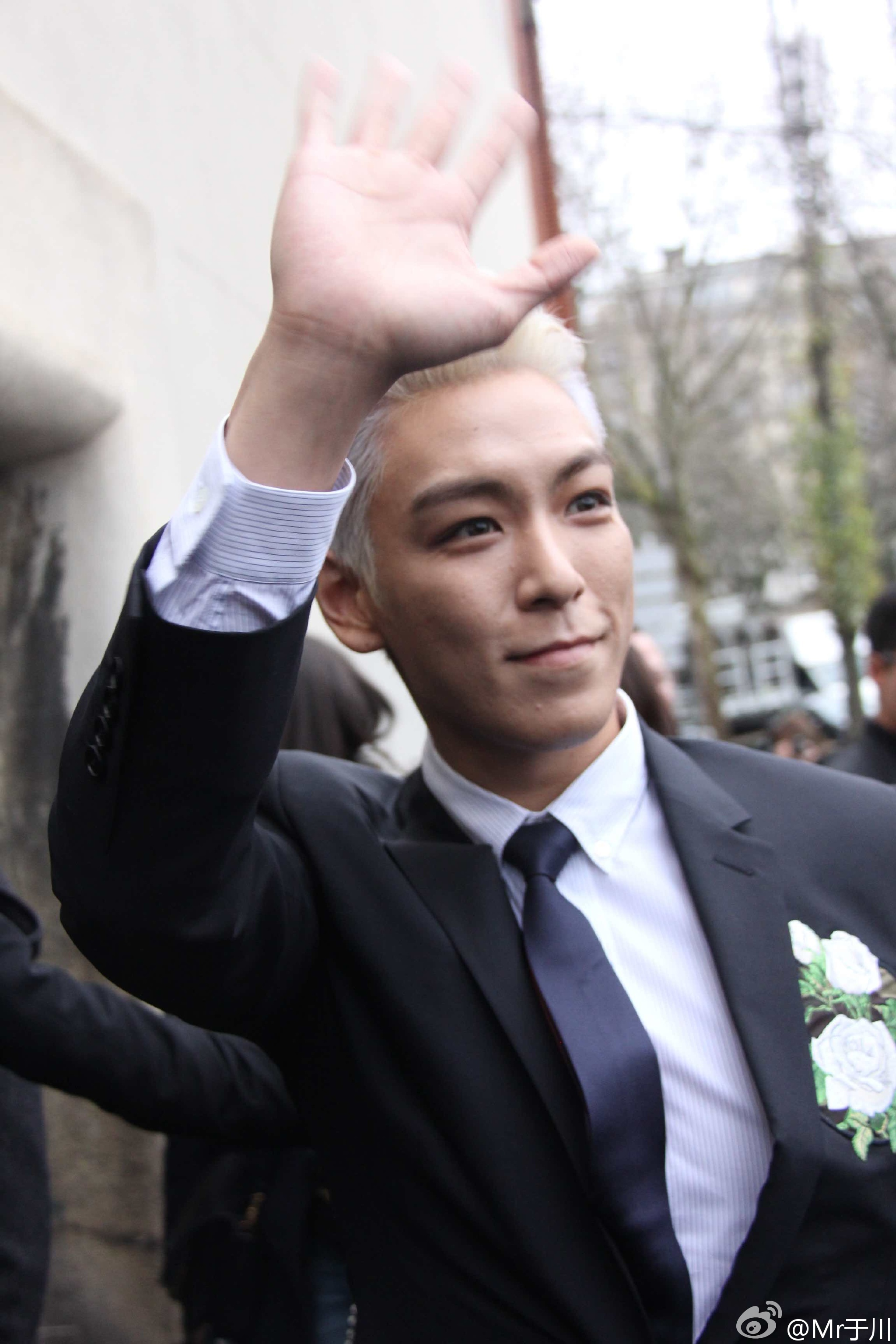 TOP - Dior Homme Fashion Show - 23jan2016 - Mr于川 - 02