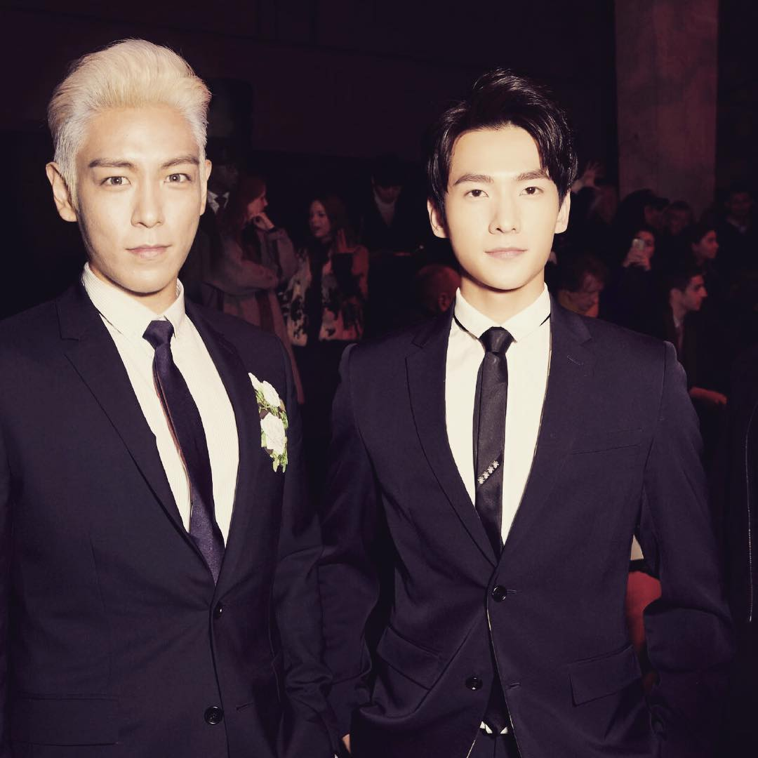 TOP - Dior Homme Fashion Show - 23jan2016 - Yangyangbar - 02