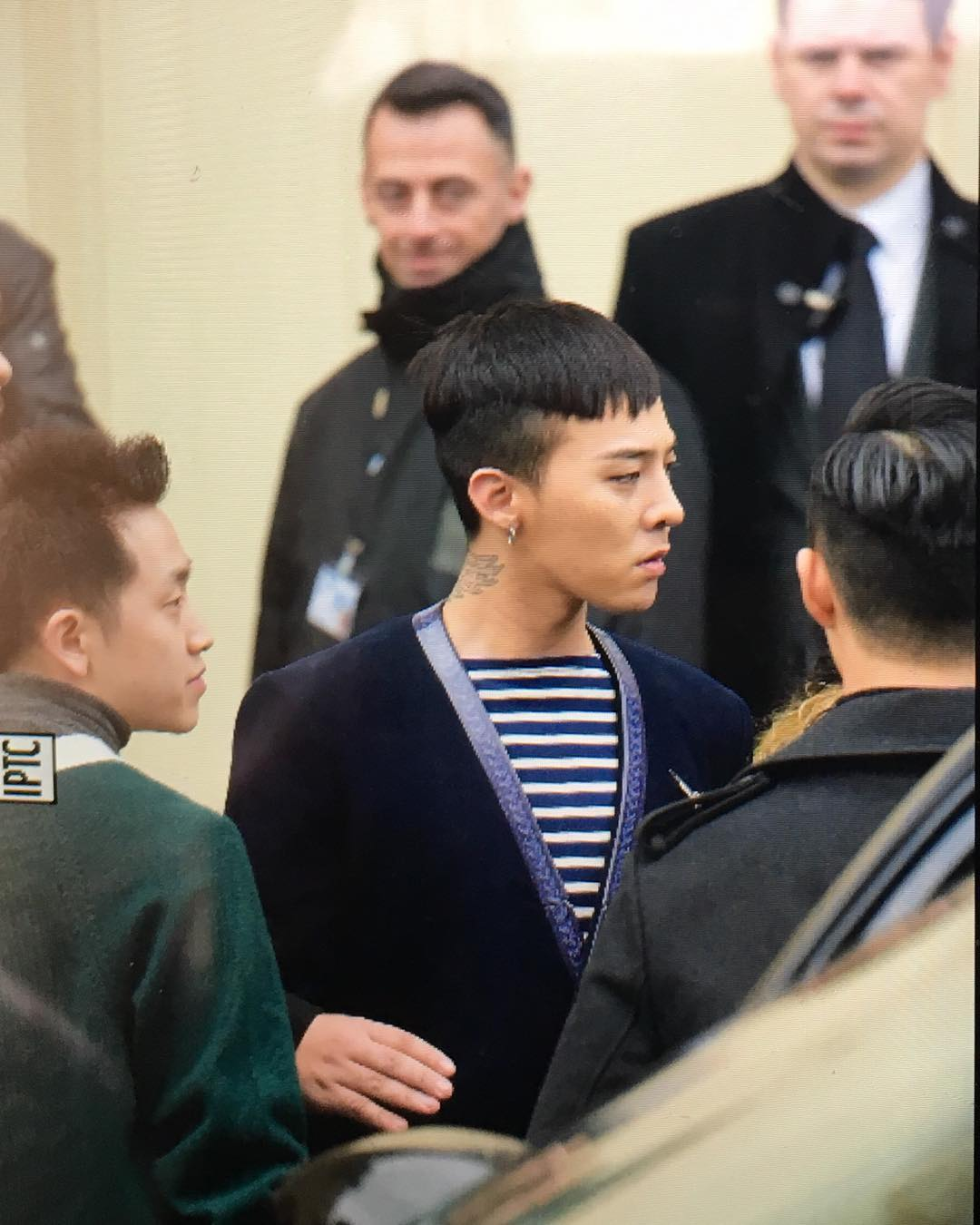 G-Dragon Chanel Haute Coutoure At Grand Palais Paris 2016-01-26 Cecilewang