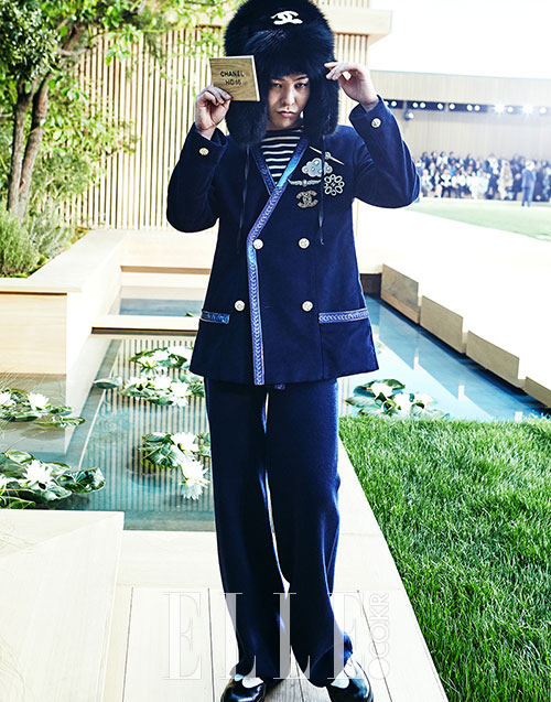G-Dragon CHANEL Elle Korea (1)