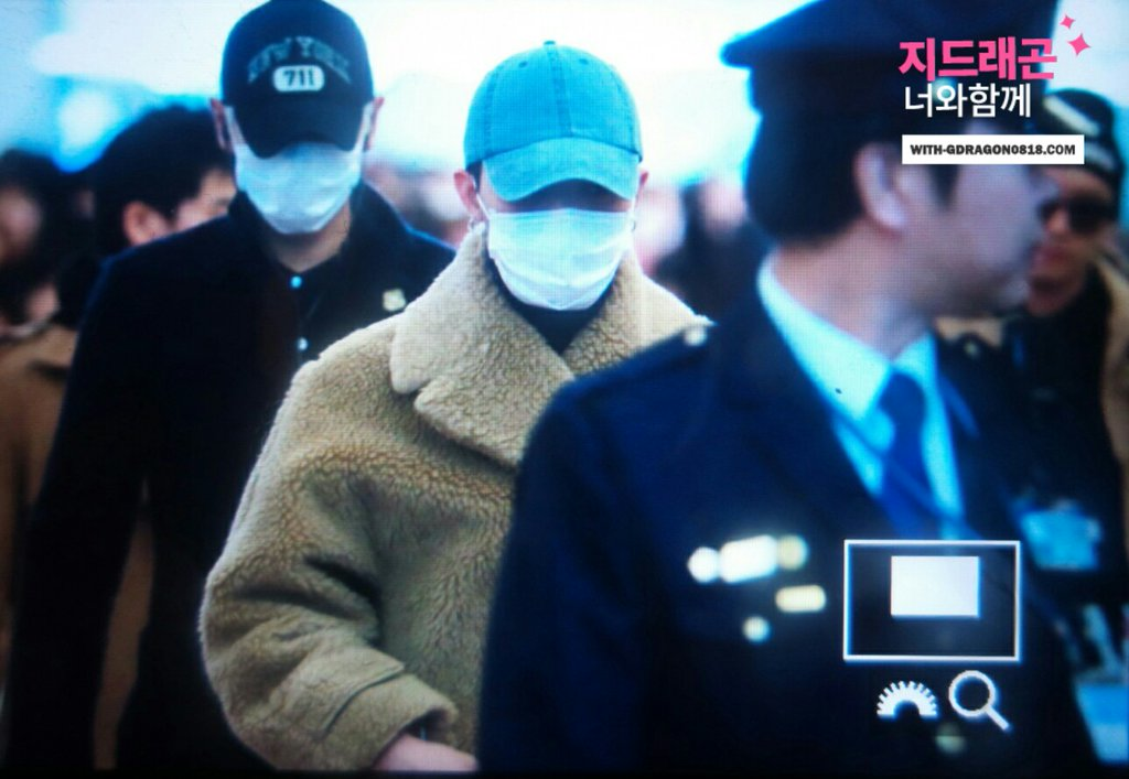 Big Bang - HANEDA Tokyo - 31jan2016 - With G-Dragon - 05 (2)