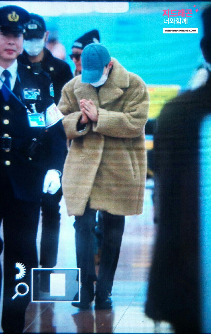 Big Bang - HANEDA Tokyo - 31jan2016 - With G-Dragon - 05 (1)