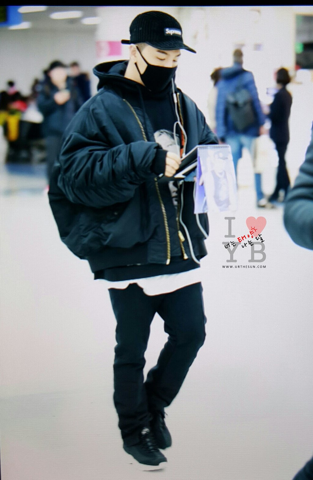 Big Bang - Gimpo Airport - 31jan2016 - Urthesun - 02