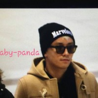 Big Bang - Gimpo Airport - 31jan2016 - Baby Panda - 01