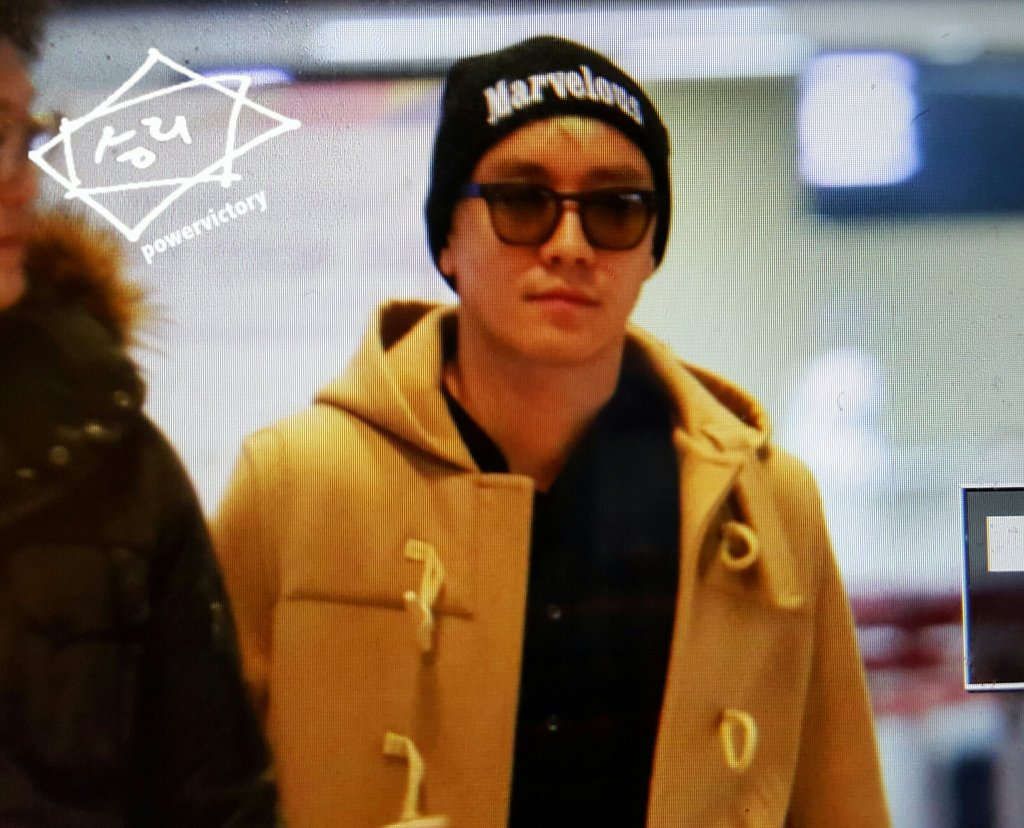 BIGBANG - Gimpo Airport - 31jan2016 - Power Victory - 01